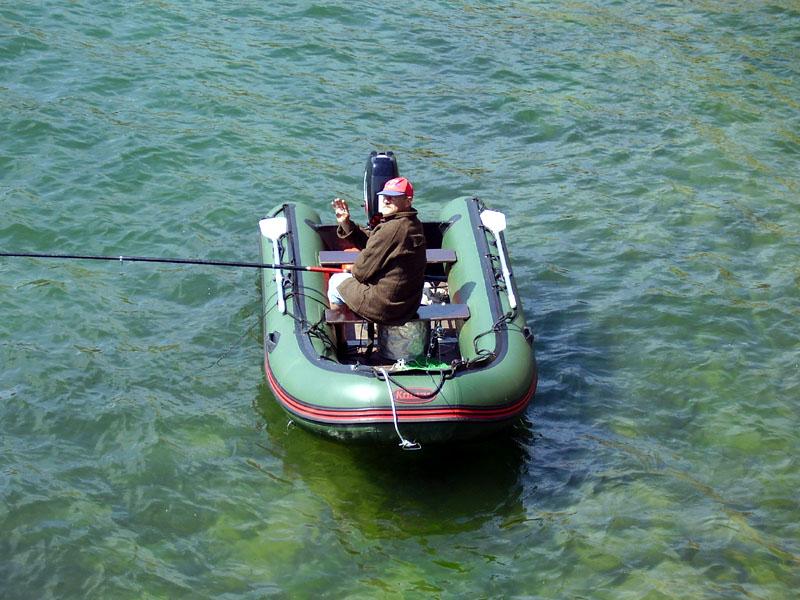 рыбалка в море на надувных лодках видео
